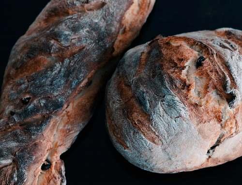 food brown bread bun