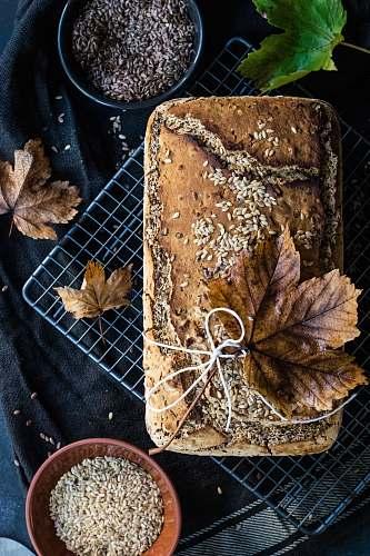 food brown leaf breakfast