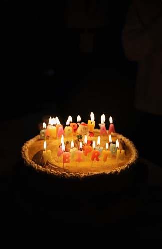 dessert white icing Happy Birthday cake birthday cake