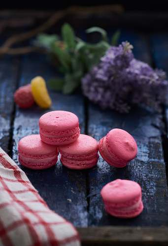 food French macaroons sweets