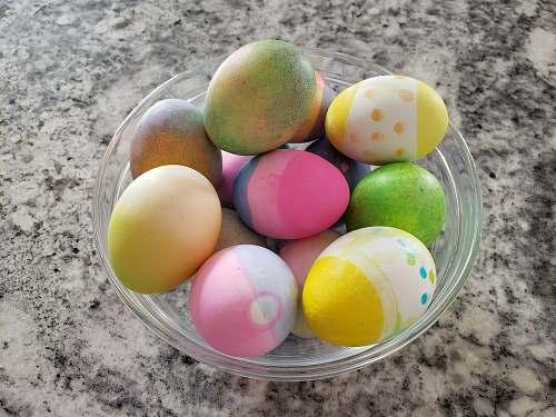 food assorted-color faberge egg toy lot easter egg