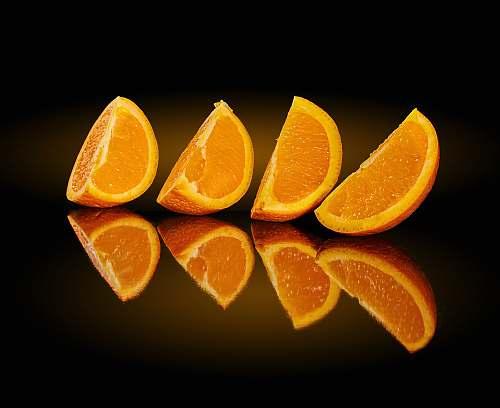 fruit 4 sliced orange fruits citrus fruit
