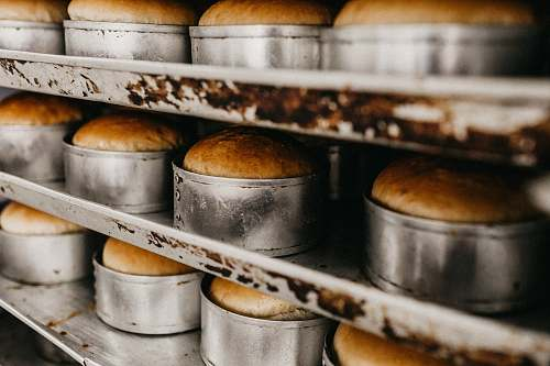 bread baked bread in molders shelf