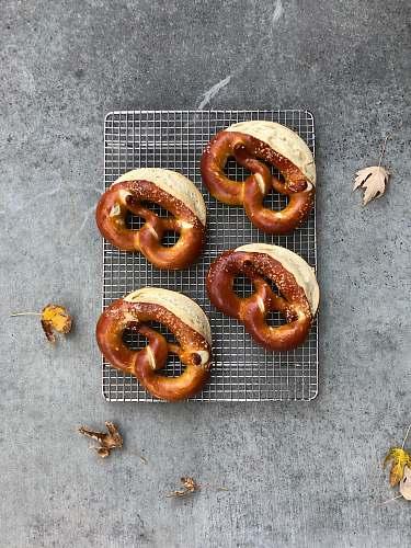 cracker baked breads pretzel