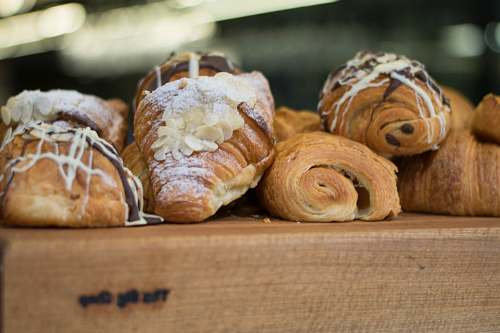 bread baked croissant breads croissant