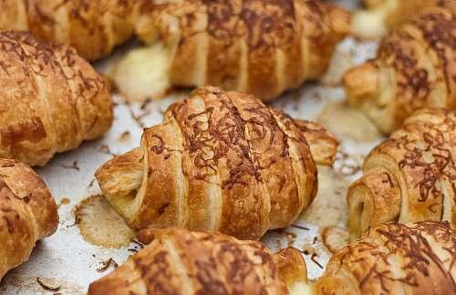 bread baked croissants croissant
