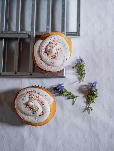 cream baked cupcakes creme