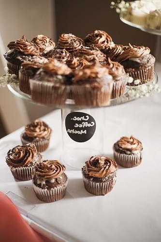 dessert baked pastry cupcake