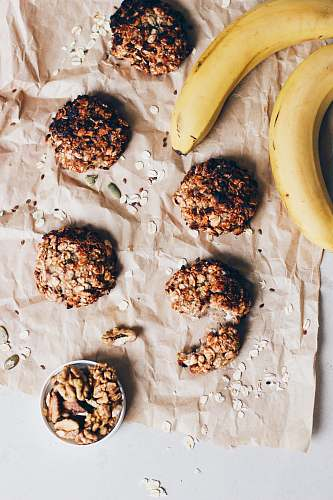 walnut banana fruit with nuts vegetable