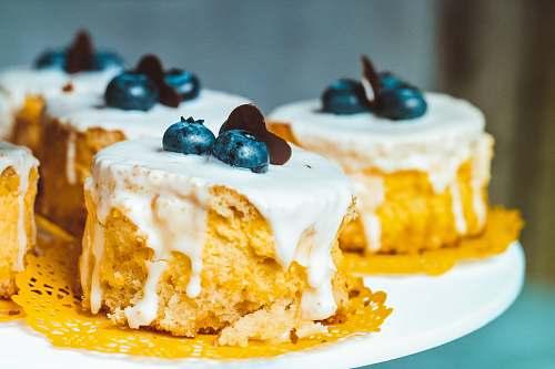 cake blueberry cupcakes dessert