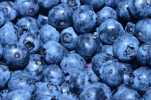 fruit blueberry lot blueberry