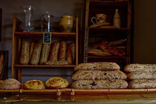 bread bread on desk boulanger