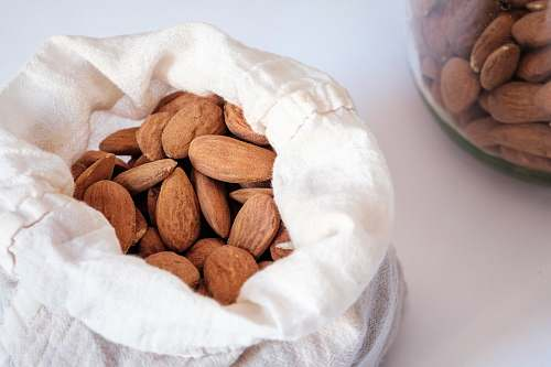 almond brown almond nuts nut
