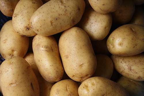 potato brown potato lot vegetable