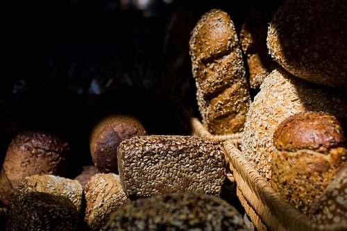 bread brown rocks wheat