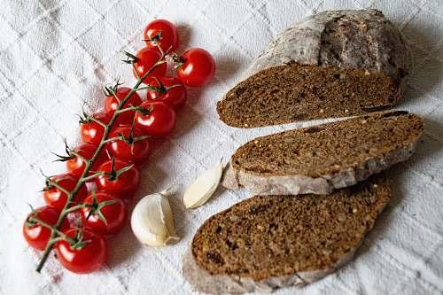 plant bunch of cherries bread