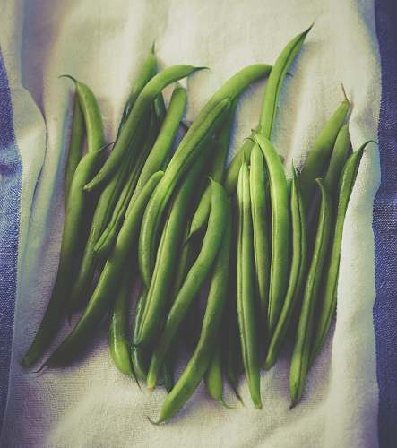 vegetable bunch of green beans bean