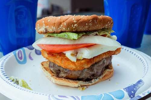 burger burger with vegetables