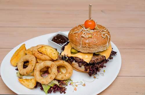 burger calamari and hamburger unhealthy