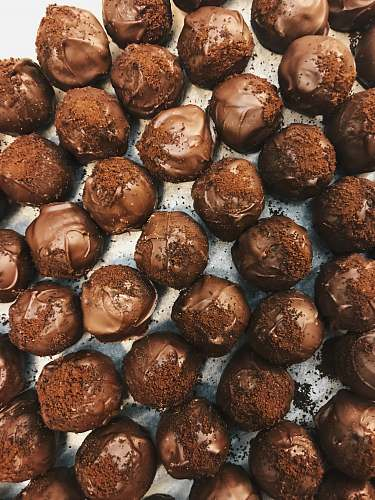 confectionery chocolate balls sweets