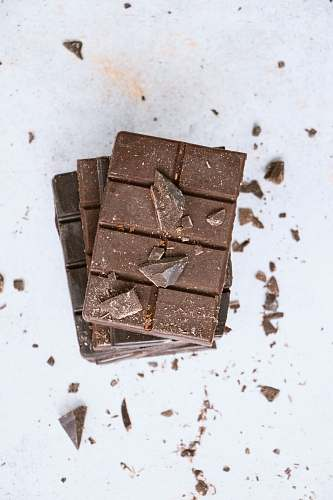 dessert chocolate bars fudge