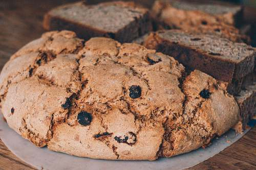 bread chocolate chip cookie biscuit