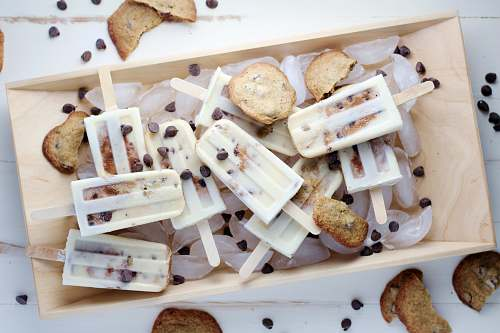 dessert chocolate chip cookie popsicles cake
