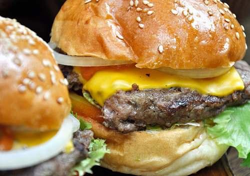 burger close-up photo cheeseburger bali