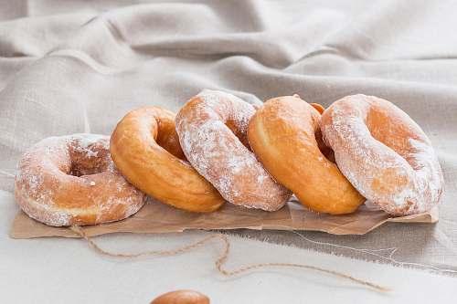 bread doughnut photograph dessert