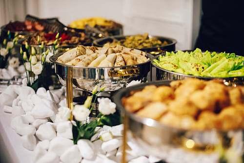 meal dumplings platter restaurant