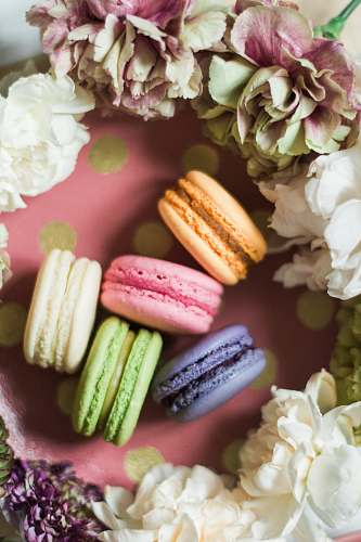 confectionery French Macaroons sweets
