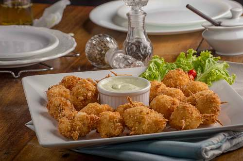 fried chicken fried food nuggets
