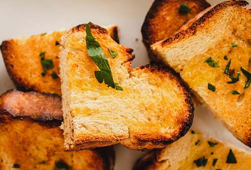 bread garlic bread toast