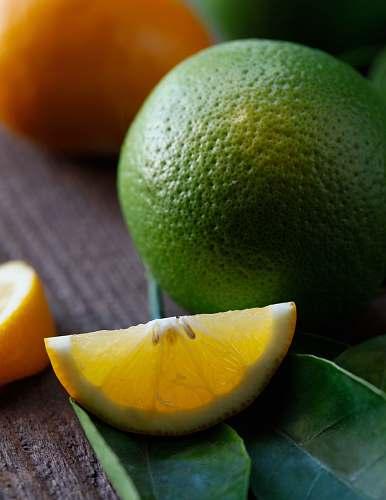 fruit green lime citrus fruit