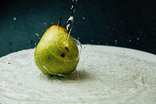 fruit green pear fruit pear