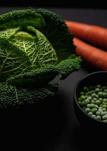plant green vegetable beside black bowl vegetable