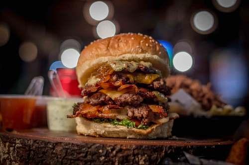 burger ham burger alcohol