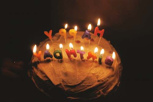 cake Happy Birthday cake candle birthday cake