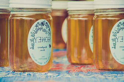 honey honey raspberry jars jar