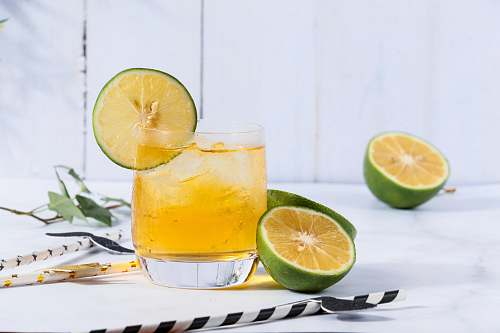 fruit lemon juice lime