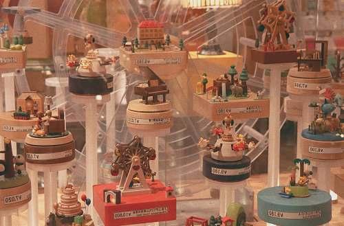 dessert multicolored doll house cake