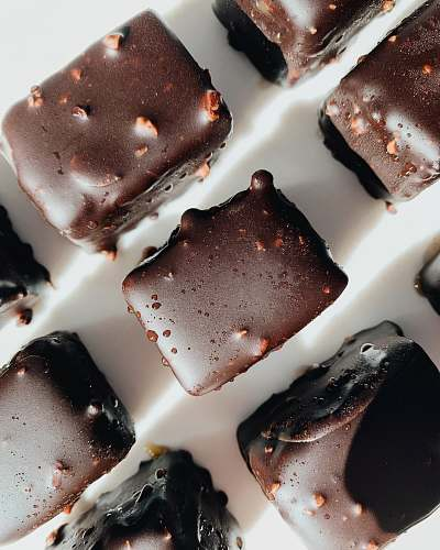 dessert nine chocolate bars chocolate