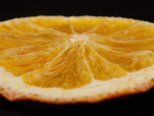 citrus fruit orange slice fruit