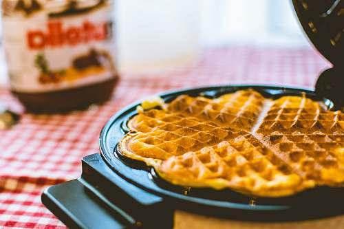 waffle pancake maker nutella