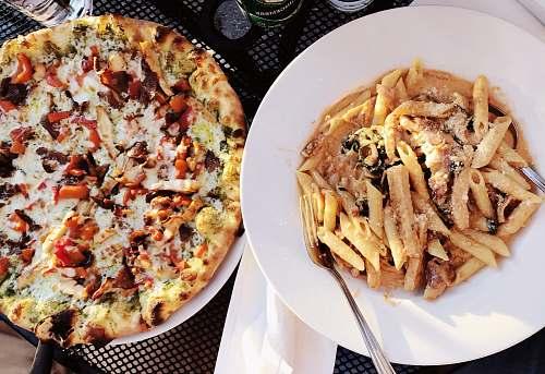 pizza pasta and pizza pasta