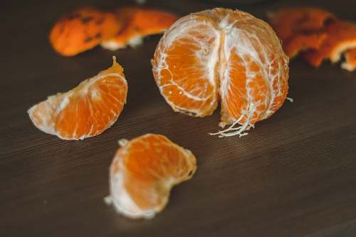 plant peeled orange fruit citrus fruit