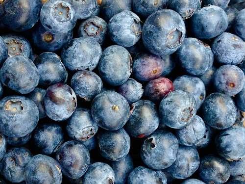 fruit pile of blueberries blueberry