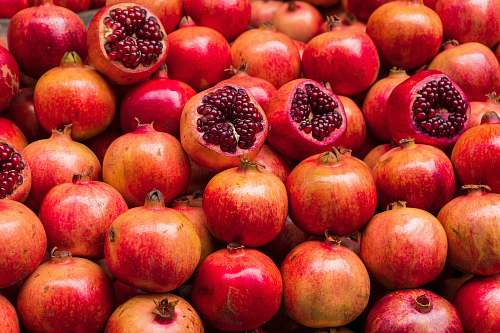 fruit pomegranate fruits produce
