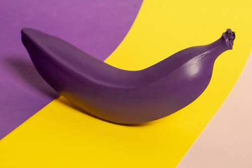 fruit purple artificial banana fruit banana
