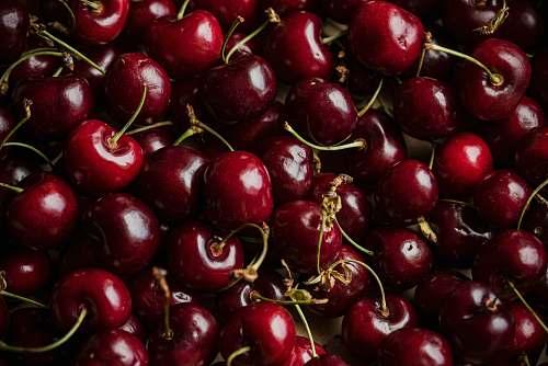 fruit red cherry fruits cherry